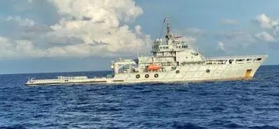 bantu evakuasi kri nanggala 402 kapal angkatan laut china tiba di perairan bali InREVZU8MQ Bantu Evakuasi KRI Nanggala-402, Kapal Angkatan Laut China Tiba di Perairan Bali