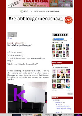 Berbaloikah jadi blogger