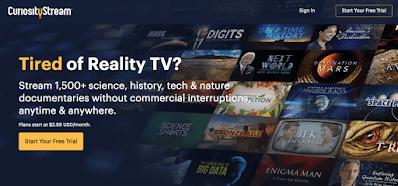 curiosity stream best video on demand service provider