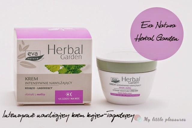 Lekki nawilżacz za grosze - Krem kojąco-łagodzący Eva Natura Herbal Garden