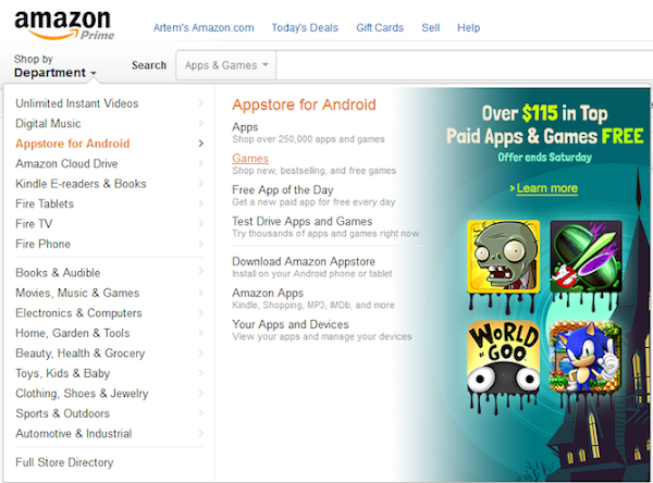 Get $115 worth of Android apps and games for free on the Amazon Appstore