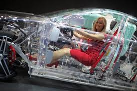 First Transparent Car