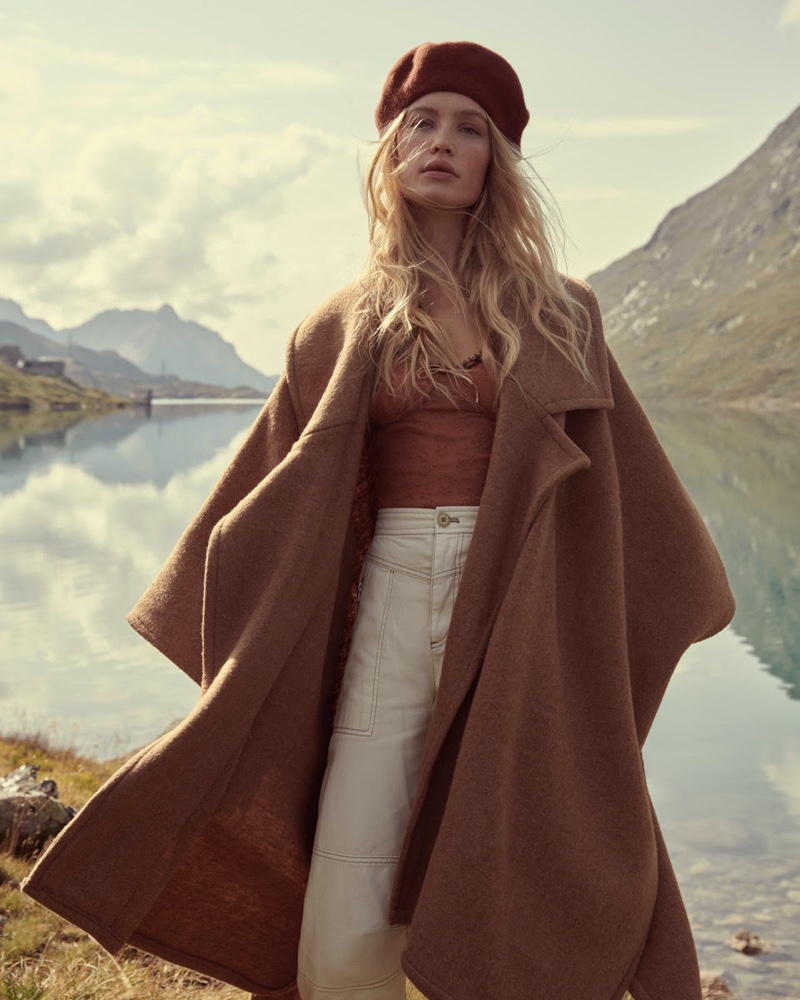 Free People sets holiday 2019 campaign in St. Moritz, Switzerland