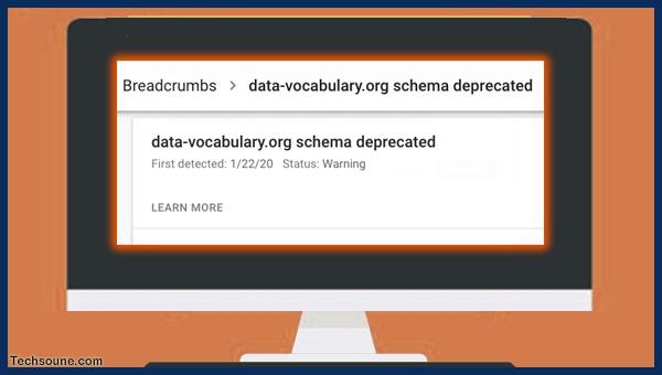"""كيفية إصلاح خطأ """"data-vocabulary.org schema deprecated"""""""
