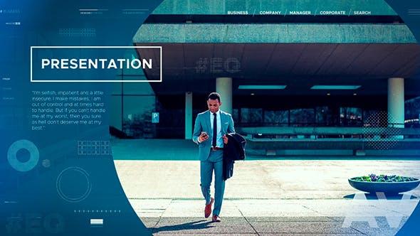 Videohive Minimal Presentation 21374618