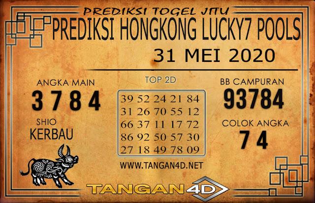 PREDIKSI TOGEL HONGKONG LUCKY 7 TANGAN4D 31 MEI 2020