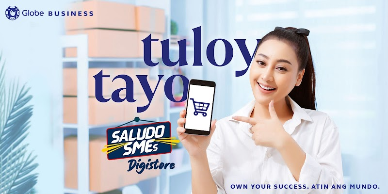 Globe Business boosts online sales of businesses  through Saludo SMEs Digistore