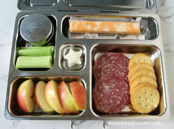 5 Snacky Lunch Ideas For School