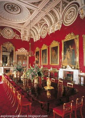 istana buckingham bagian dalam