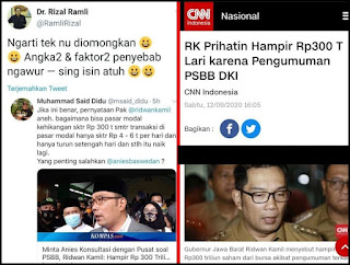 Tak Punya Bukti, Pernyataan RK Soal Anies Penyebab Hilangnya 300 T Diduga Sebagai Hoax