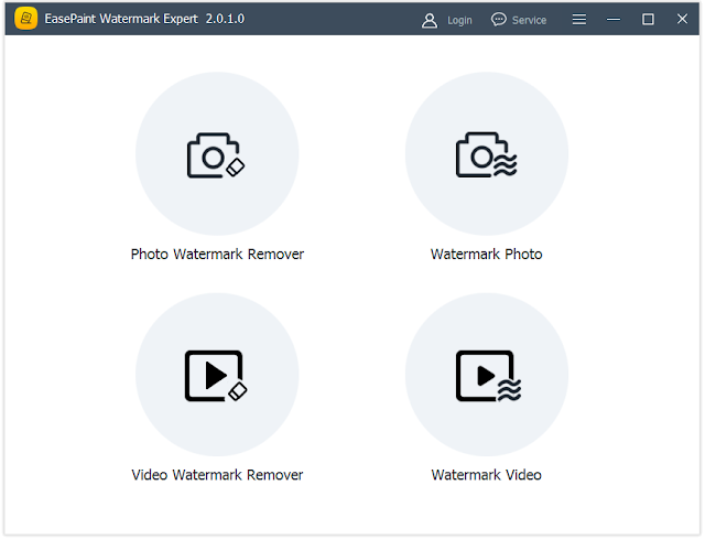 Screenshot EasePaint Watermark Expert 2.0.1.0 Full Version