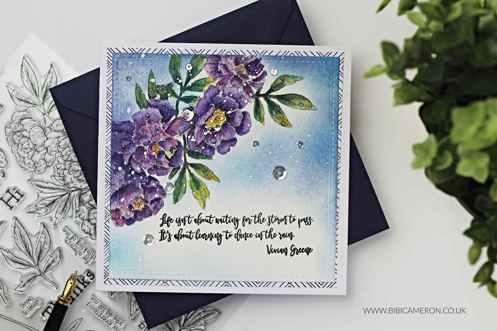 Stamptember 2018 Blog Party Beautiful Flowers Ii By Simon Says