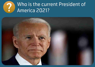Who is the current President of America 2021?