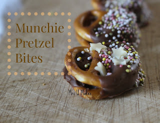 Mrs U Makes...Munchie Pretzel Bites #mymrsumakes @mrsumakes