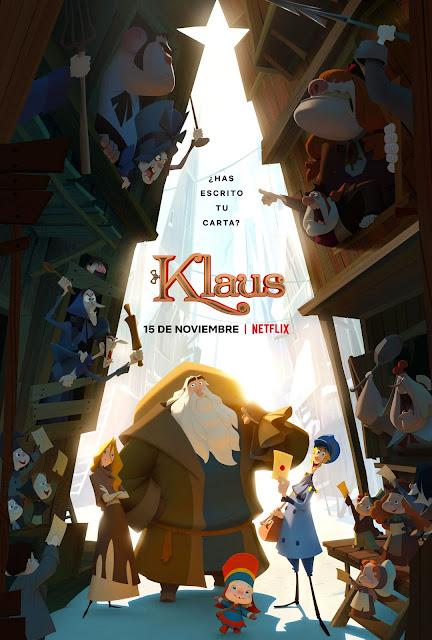 Klaus película de animación española de Netflix