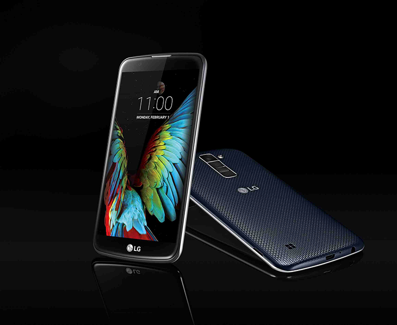 The Beautiful LG K10 And K7 Introduced! Goes With Glossy Pebble Design Language!