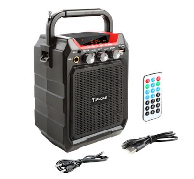 TOPROAD Portable Bluetooth Speaker