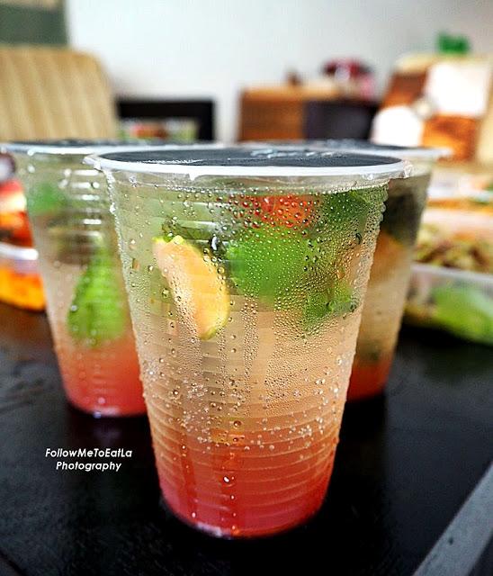Drink ~ Spicy Minty Limau Ais