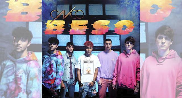 """CNCO sorprende a sus seguidores con su nuevo tema titulado """"Beso"""""""