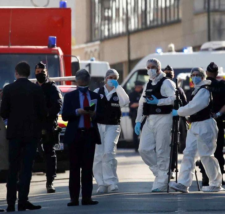 Agentes vigiam área de Rambouillet onde funcionária policial foi morta em abril de 2021