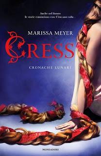 Copertina di Cress Cronache Lunari di Marissa Meyer