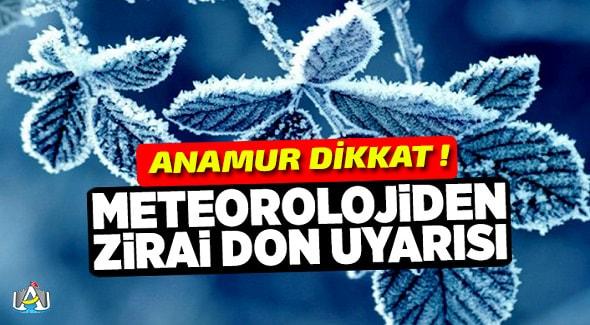 Anamur Haber, Anamur Son Dakika, Anamur Zirai Don