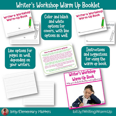 https://www.teacherspayteachers.com/Product/Writers-Workshop-Warm-Up-Booklet-192620?utm_source=Developing%20Writing%20Fluency%20Blog%20Post&utm_campaign=Writing%20Warm%20Up