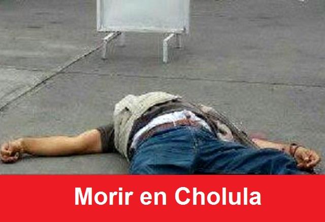 Matan a cuenta habiente en Cholula