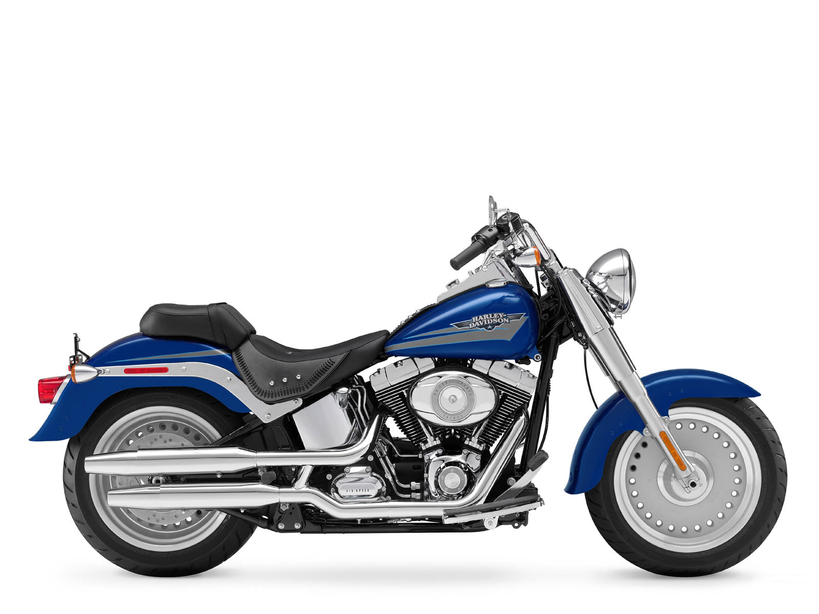 Harley Davidson Motorcycles: 2009 Harley-Davidson FLSTF Fat Boy Insurance Info, Wallpaper