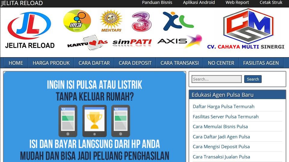 web pemasaran - web pulsa gratis - blog pulsa - www.jelitareloadpulsamurah.com