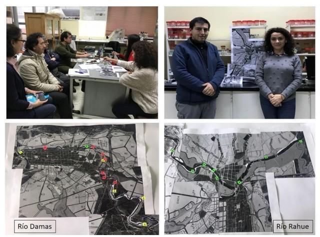 Identifican lugares de contaminación en el río Damas y Rahue