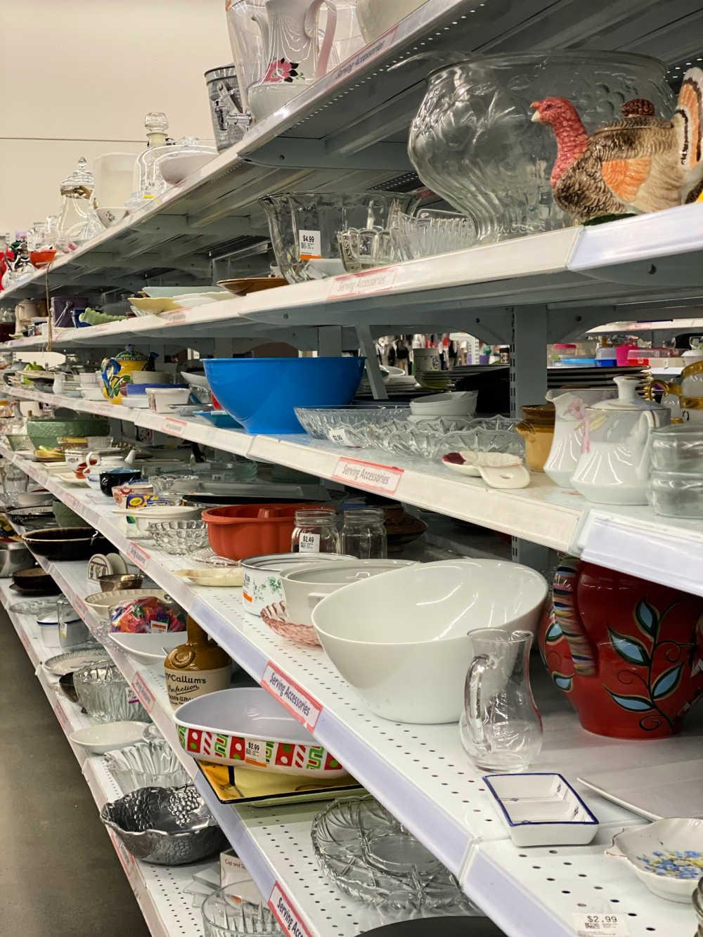 serveware thrift store