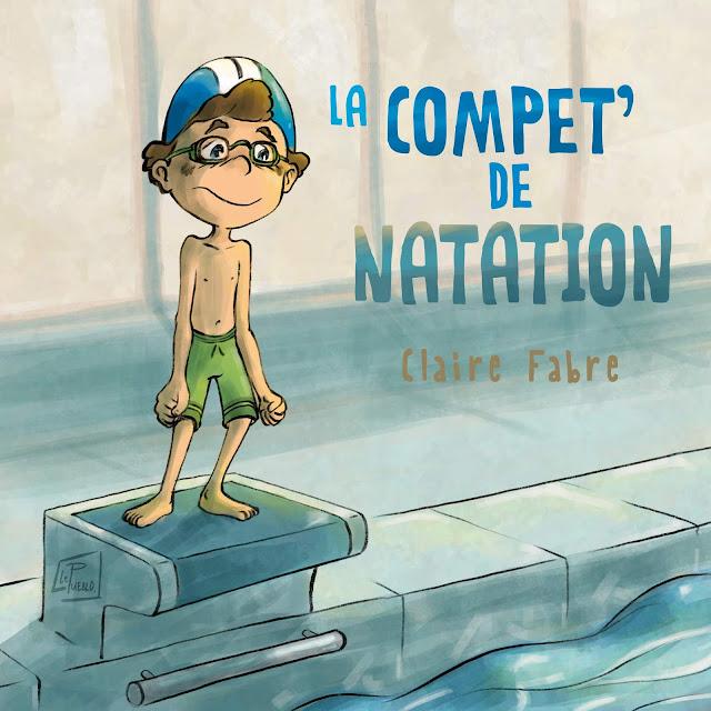 natation illustration jeunesse enfant compétition LePueblo