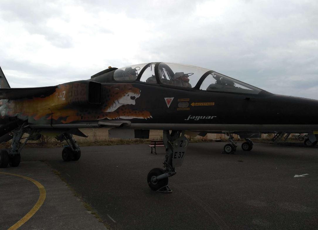Musée aviation corbas jaguar