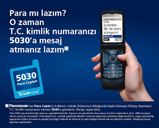 sms ile bankalara büyük rant