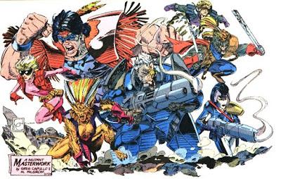 """Gregory """"Greg"""" Capullo (né le 30 mars 1962) est un dessinateur de bande dessinées connu pour son travail sur Quasar (1991–1992), X-Force (1992–1993), Angela (1994) et Spawn (1993–1999, 2003–2004). Il crée The Creech, publié chez Image Comics, participe à the Korn, Follow the Leader et Disturbed, Ten Thousand Fists et travaille sur le film: The Dangerous Lives of Altar Boys. Autodidacte et influencé par John Buscema, en juin 2011, il est engagé par DC pour Batman #1, avec Scott Snyder au scénario.  Alors préparez-vous pour """"The Art of Greg Capullo""""!!!!!!!!!!!!!!!"""