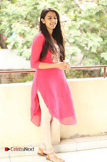 Actress Niharika Pictures at Konidela Interview  0114