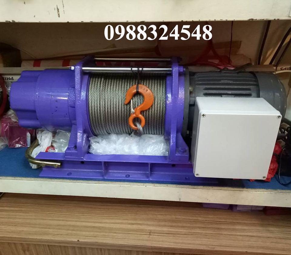 Tời cáp điện Comeup CP-750T 750kg