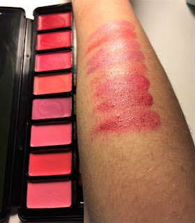 Profusion Lip High Pigmented Matte Lipstick in Rose swatches