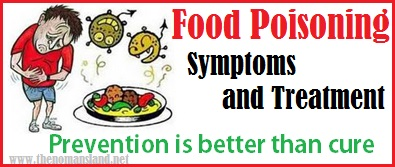 food poisoning symptoms