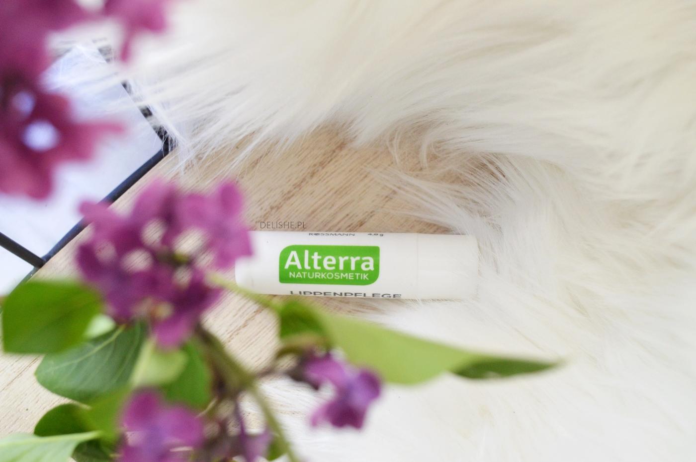 pewniaki kosmetyczne do pielęgnacji, rumiankowa pomadka alterra