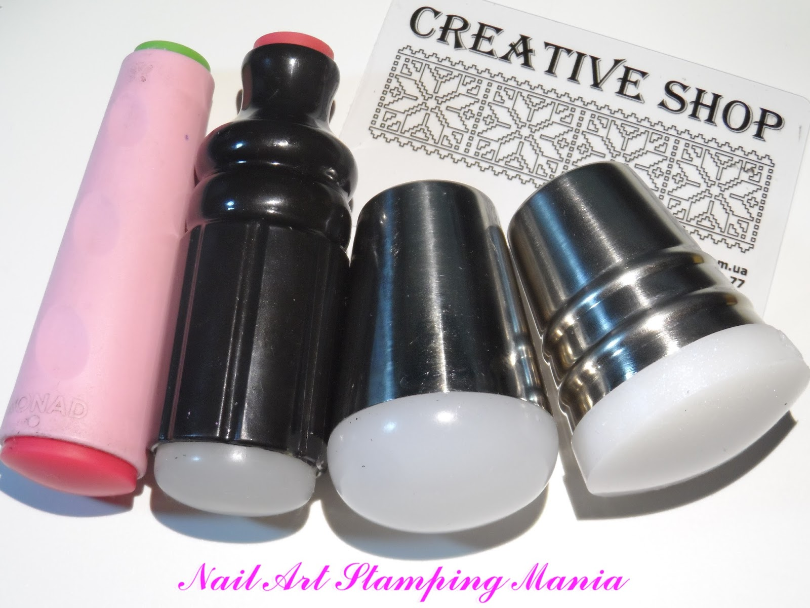 Nail Art Stamping Mania Creative Shop Space Collection