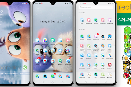 Angry Birds Full Animation Themes for OPPO & Realme