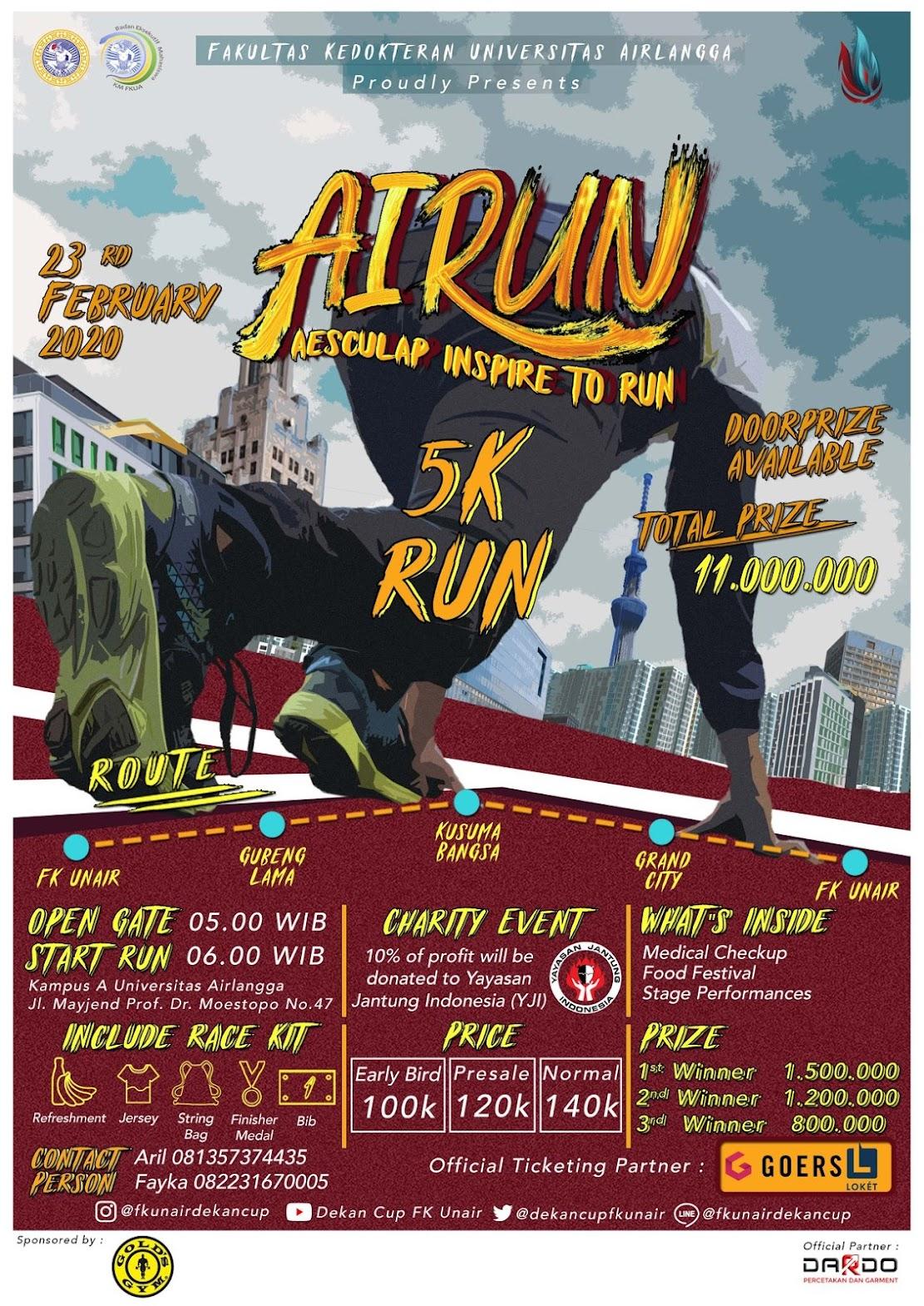 AIRun - Aesculap Inspire to Run • 2020