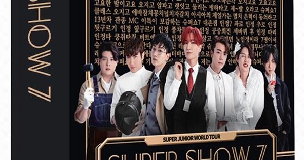 Super Junior World Tour - Super Show 7 DVD : Valoa Records