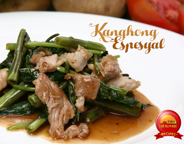 Kangkong Espesyal Recipe