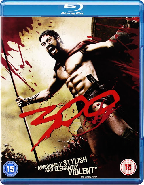 300 (2006) 720p HEVC BluRay x265 ESubs ORG. [Dual Audio] [Hindi or English] [500MB] Full Hollywood Movie Hindi
