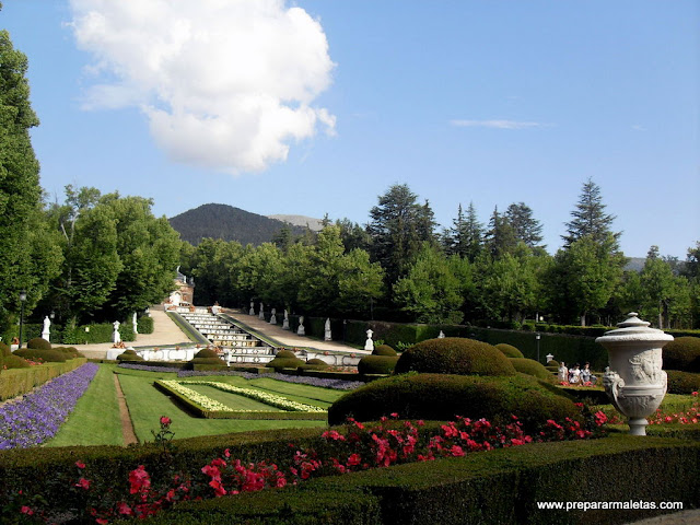 visitar el palacio Granja provincia Segovia