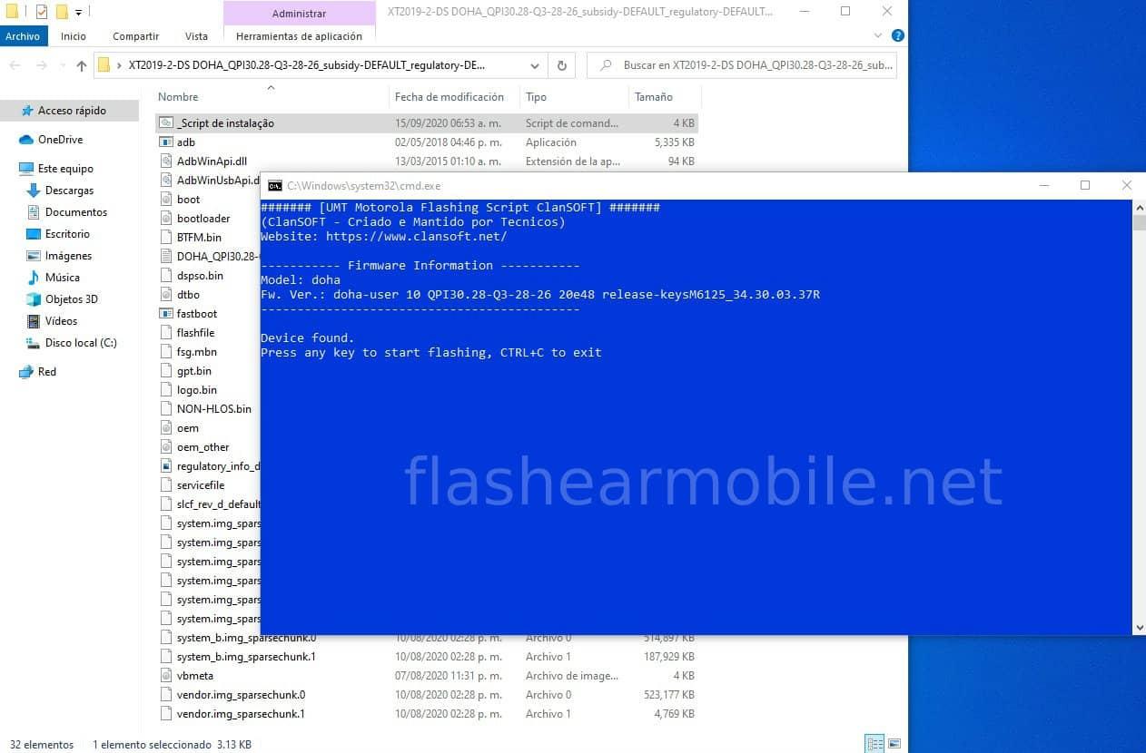 Instalar firmware oficial Moto G8, Moto G8 Play, Moto G8 Plus y Moto G8 Power - Fácil y rápido