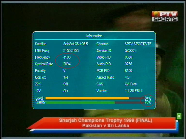 ptv sports new frequency code book - FREE ONLINE